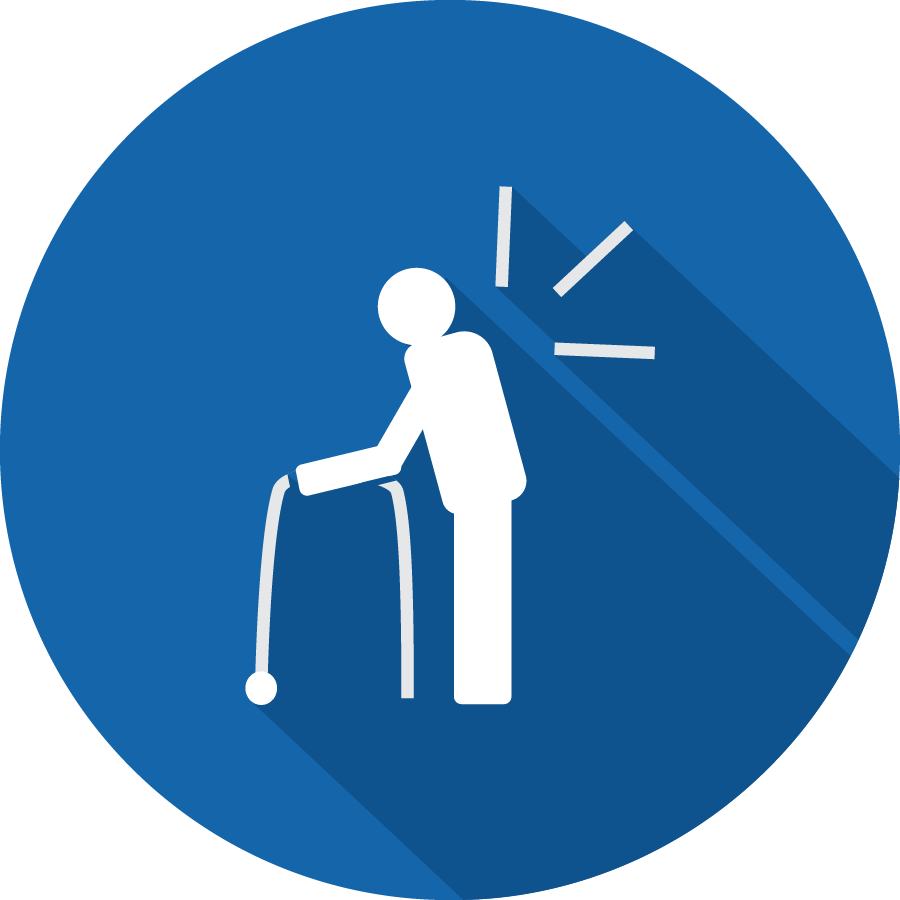 Icon for nursing home injuries with Abeyta Nelson attorneys