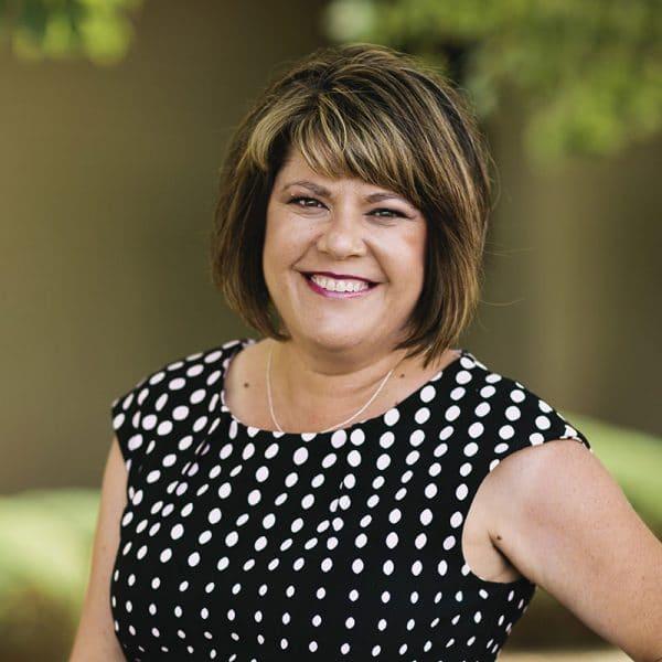 Portrait of Julie Burton, Abeyta Nelson legal assistant